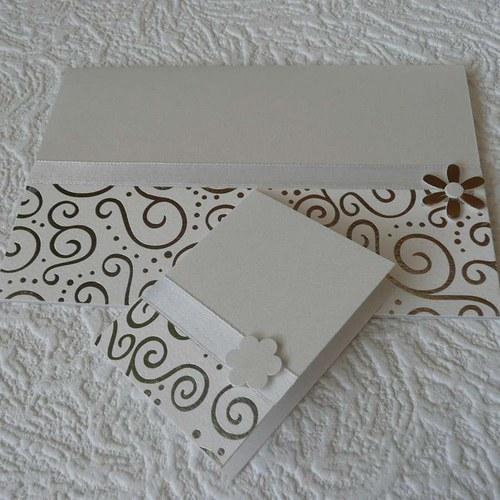 Přání svatební s kartičkou