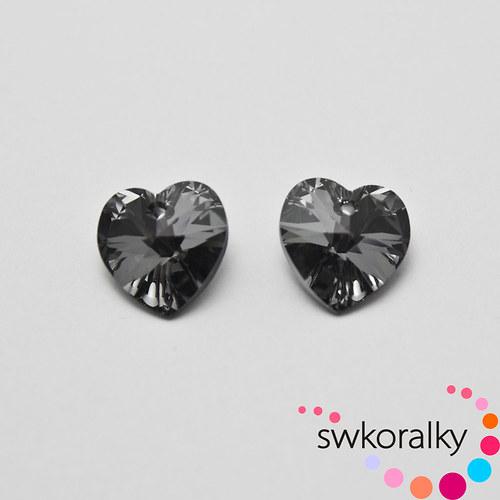 SRDCE XILION 14 SW.®ELEMENTS crystal silver night