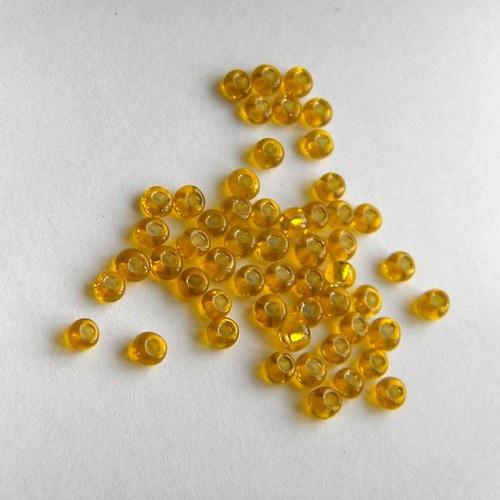 Rokajl barvy tmavší žluté - 10 g
