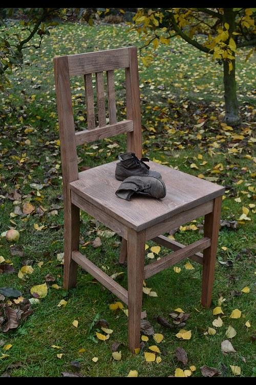 Borová židle
