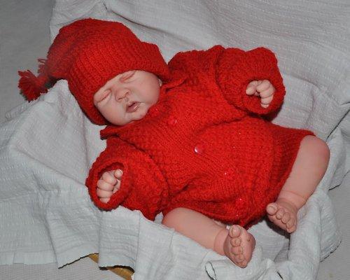 červená soupravička
