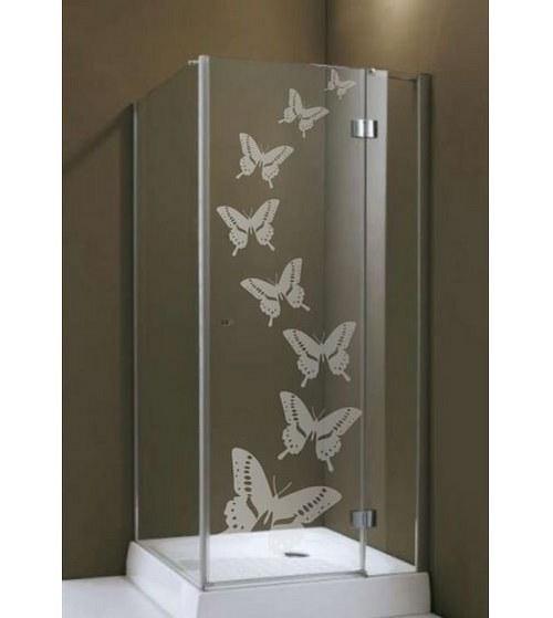 (046g) Nálepka na sprchovací kút