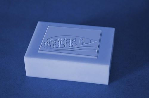 Silikonová forma na mýdla s firemním logem