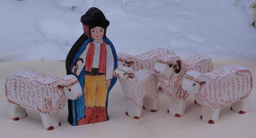 Pastevec s ovcemi - rezervace