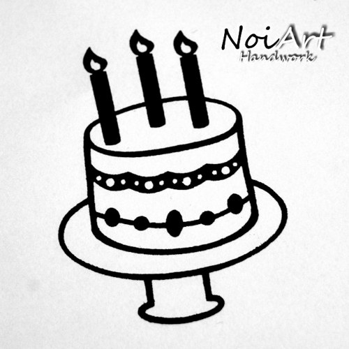 Razítko torta