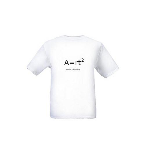 ©TEORIE KREATIVITY - pánské (unisex) tričko bílé