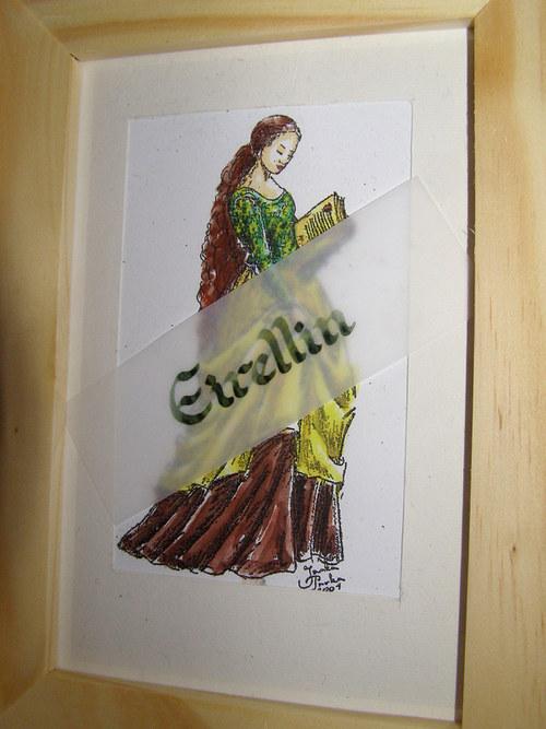 Dívka s knihou - sleva z 288,-
