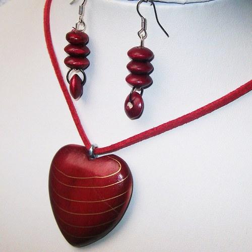 Červené Valentýnské srdce_1943