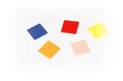 Pěnová guma-výseky - čtverec 13ks
