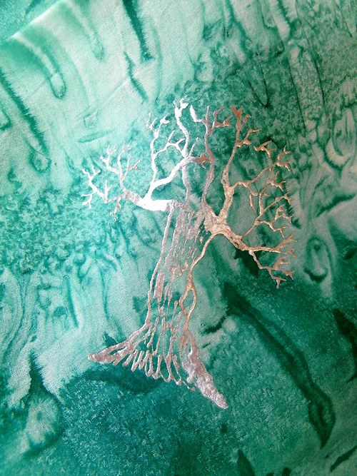 Stříbrné stromy-na objednávku