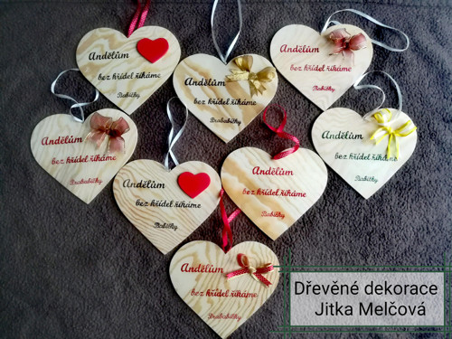 Srdce s popisem
