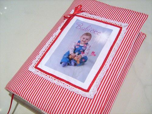 DÁREČEK-obal na knihu,diář,fotoalbum s vaší fotkou