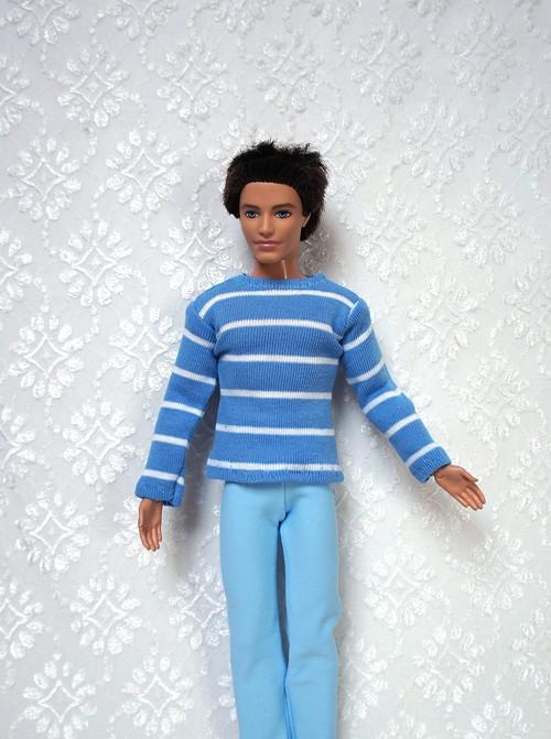 Modrý komplet pro Kena