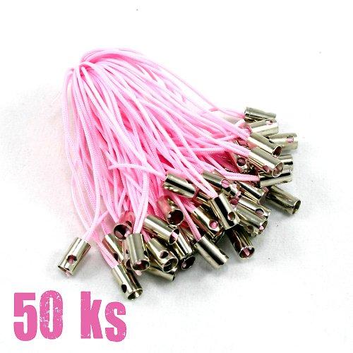 Růžová poutka - 50 ks