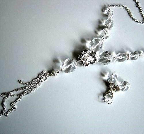 Maléna set, náhrdelník, náramek, náušnice