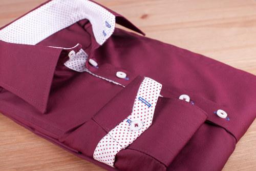 Košile - Bordó / VÝPRODEJ