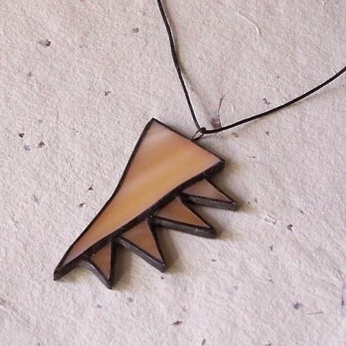 Prívesok Vyrastajúce trojuholníčky