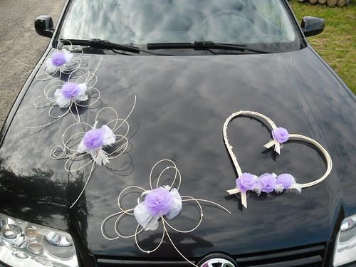 Svatební dekorace - barva na přání