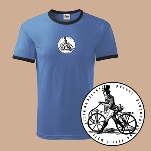 Cyklista    (pánské tričko XL)