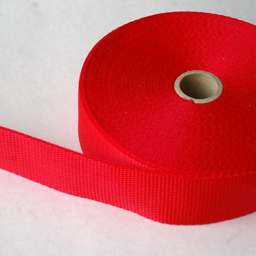 Popruh 40mm červený