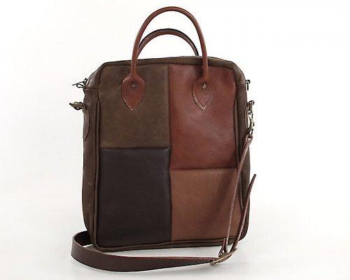 Kožená kabelka Quattro