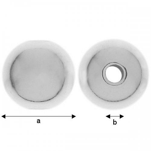 Korálek stříbro Ag 925/1000   2 ks