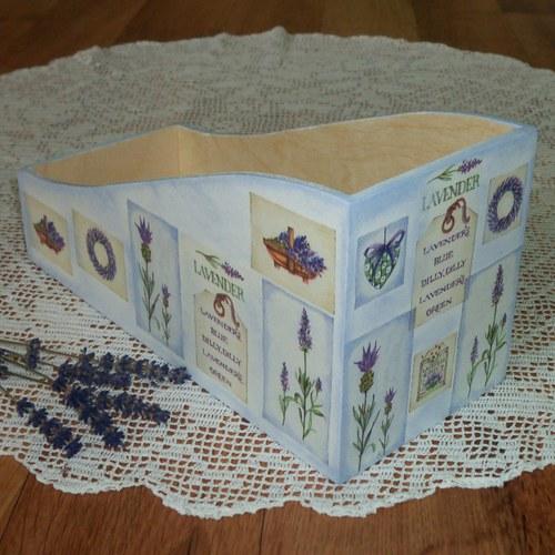 Krabička na koření s levandulí