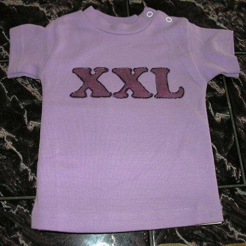 MIMI tričko XXL - světle fialové