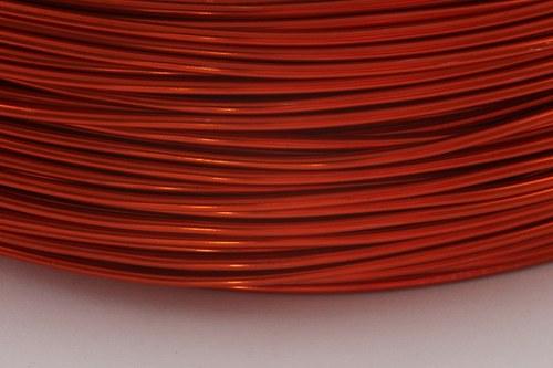 Alu drát oranžový (2 mm)