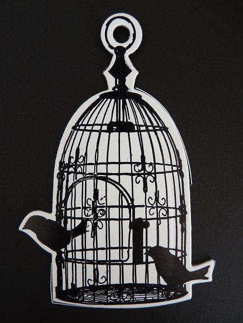 Výseky - klec s ptáky