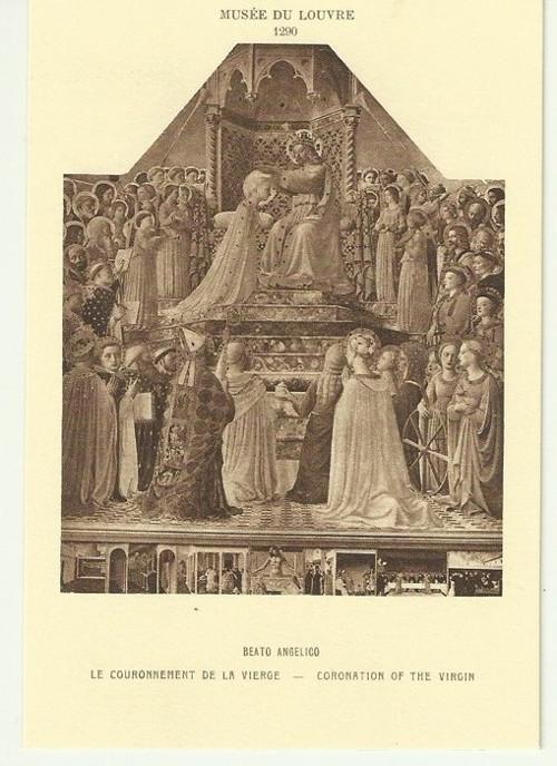 Umělecká pohlednice Beato Angelico