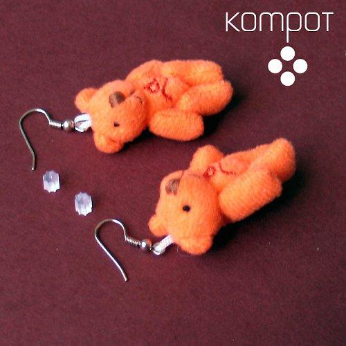 MEDVÍDCI - oranžoví