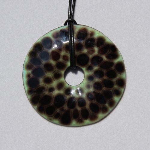 066 SmD - donut zelená želva