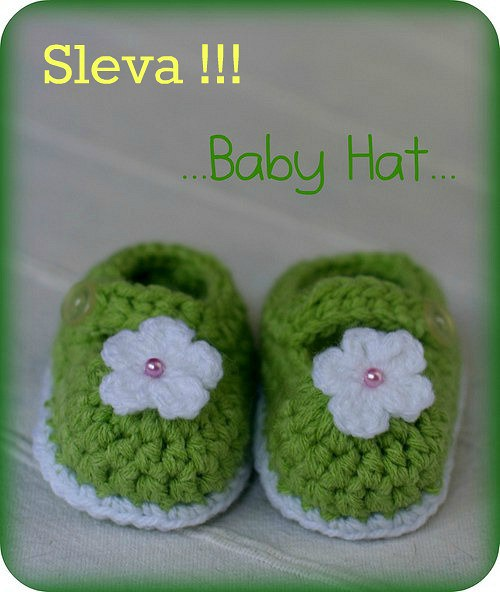 Sleva!!! Bačkůrky zelené s perličkou