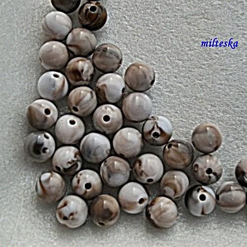 melírky hnědé/12ks