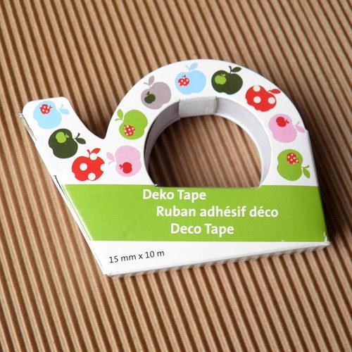Dekorace páska - izolepa - motiv jablíčka