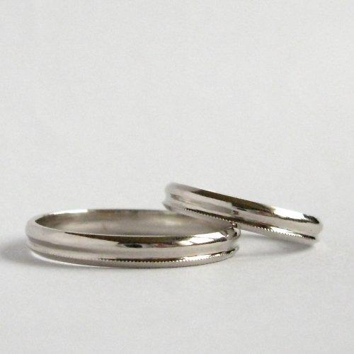 Snubní vlnky (snubní prsteny; Au 585/1000)