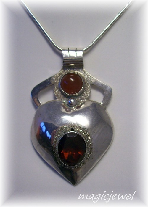 magické srdce - amulet