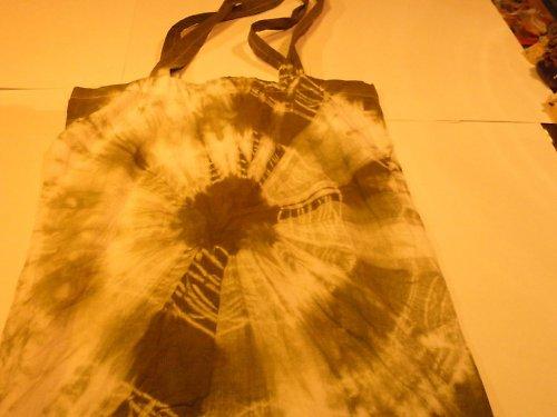 Textilní batikované a malované tašky