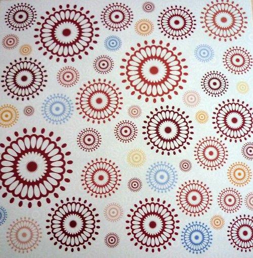 Papír Red radials