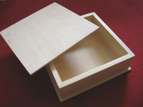 Dřevěná krabička 16x16 cm