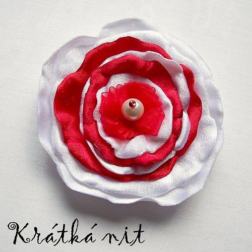 Růže brněnská - brož