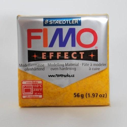 FIMO Effect / Glitter žlutá (112)