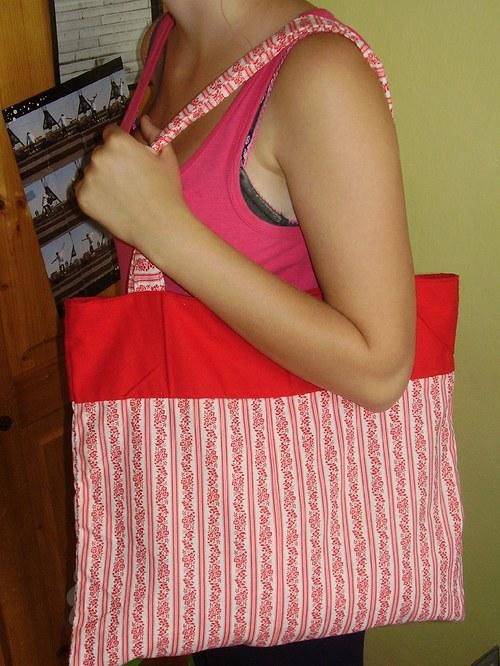 Oboustranná látková taška