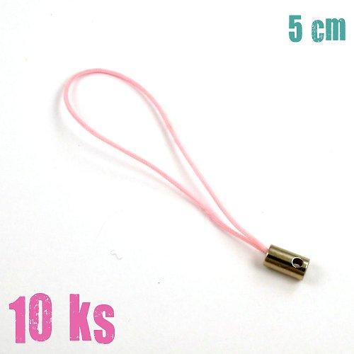 Růžová poutka - 10 ks