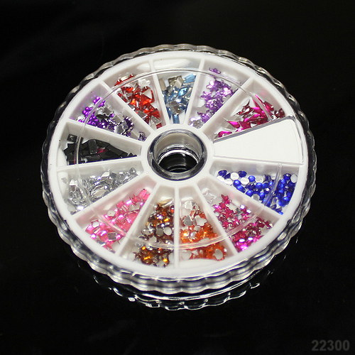 22300 Kamímky v krabičce MIX 12druhů a barev