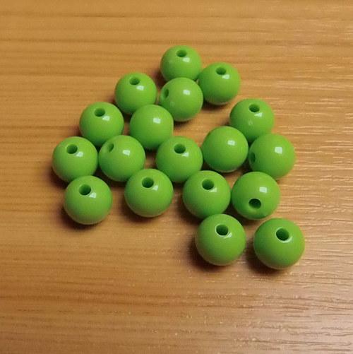 Akrylové korálky - 10mm - 10 kusů