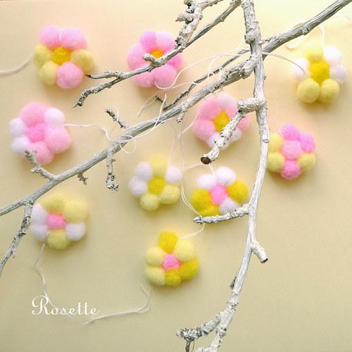 Křehké jarní paprsky ... - dekorace