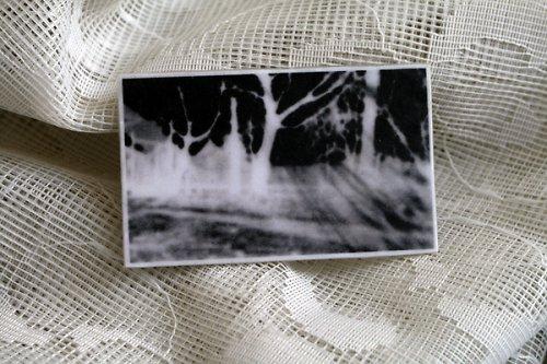 Brož s fotografickou krajinou - SLEVA!