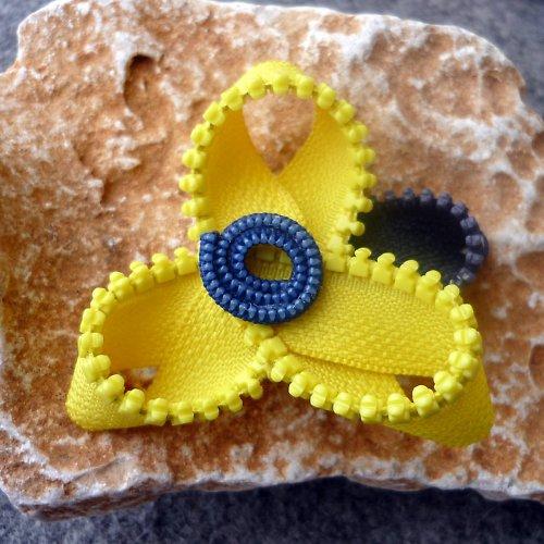 Jarní Zipová v Módní Žluté barvičce